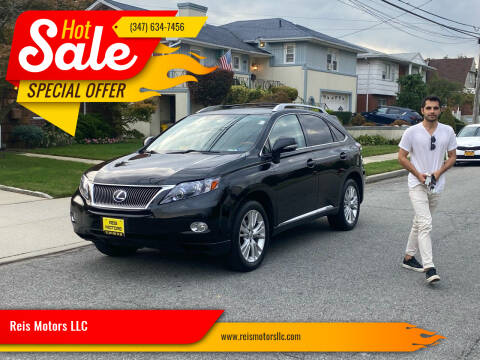 2011 Lexus RX 450h for sale at Reis Motors LLC in Lawrence NY