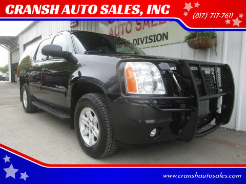 2011 GMC Yukon XL for sale at CRANSH AUTO SALES, INC in Arlington TX