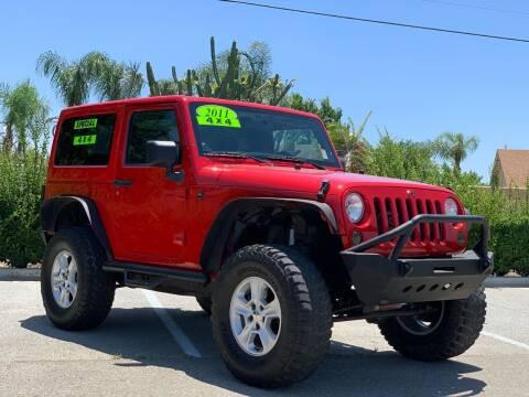 2011 Jeep Wrangler for sale at Esquivel Auto Depot in Rialto CA