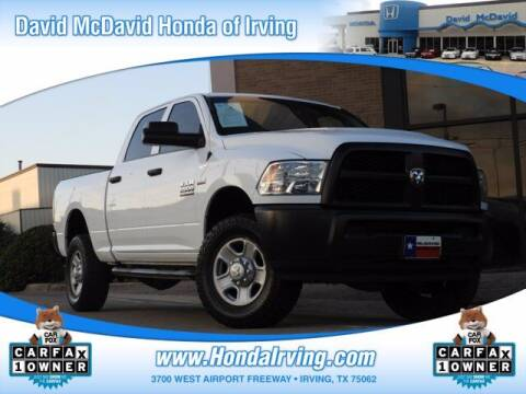 2018 RAM Ram Pickup 2500 for sale at DAVID McDAVID HONDA OF IRVING in Irving TX