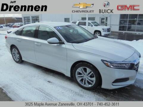 2018 Honda Accord for sale at Jeff Drennen GM Superstore in Zanesville OH