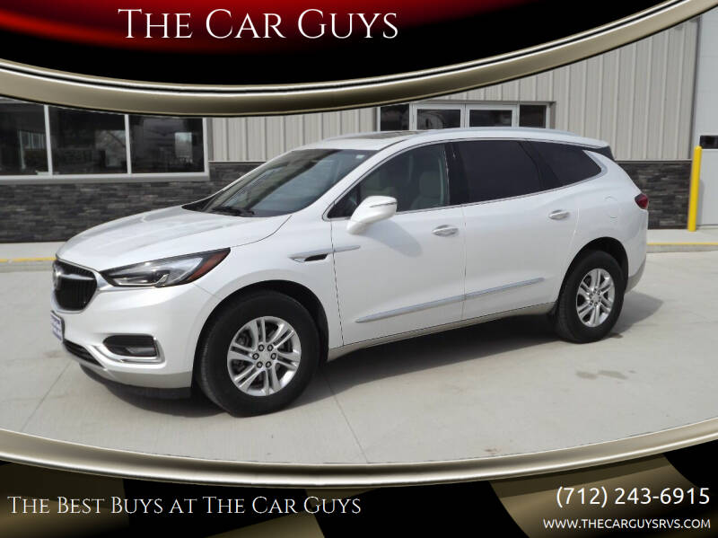 2018 Buick Enclave for sale at The Car Guys in Atlantic IA