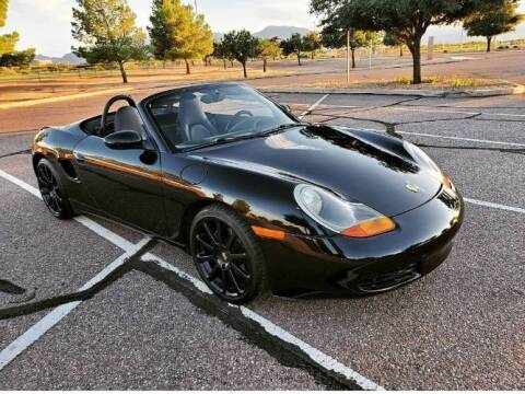 1998 Porsche Boxster for sale at Classic Car Deals in Cadillac MI