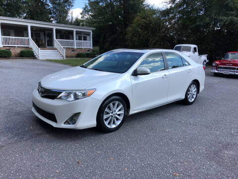 2014 Toyota Camry for sale at Dorsey Auto Sales in Anderson SC