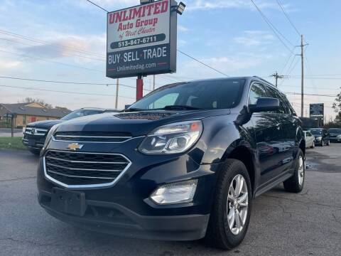 2017 Chevrolet Equinox for sale at Unlimited Auto Group in West Chester OH