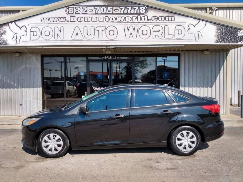 2015 Ford Focus for sale at Don Auto World in Houston TX