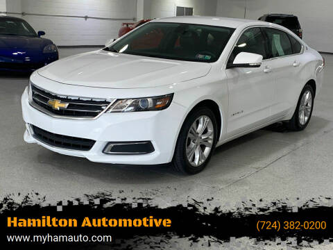 2014 Chevrolet Impala for sale at Hamilton Automotive in North Huntingdon PA