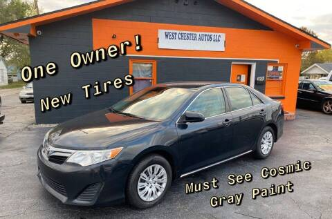 2013 Toyota Camry for sale at West Chester Autos in Hamilton OH