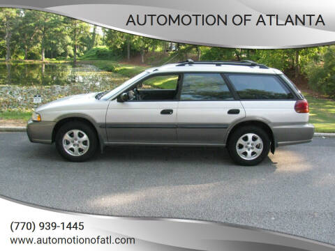 1999 Subaru Legacy for sale at Automotion Of Atlanta in Conyers GA