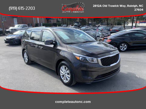2016 Kia Sedona for sale at Complete Auto Center , Inc in Raleigh NC