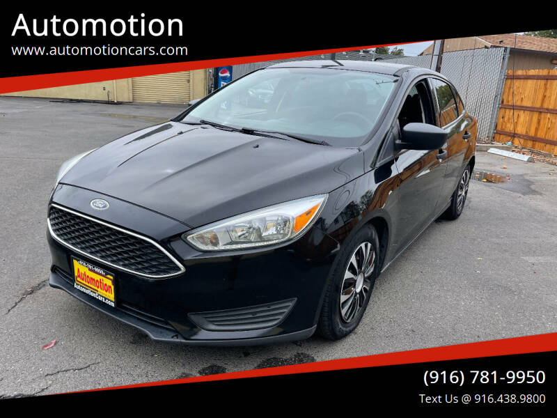 2016 Ford Focus for sale at Automotion in Roseville CA