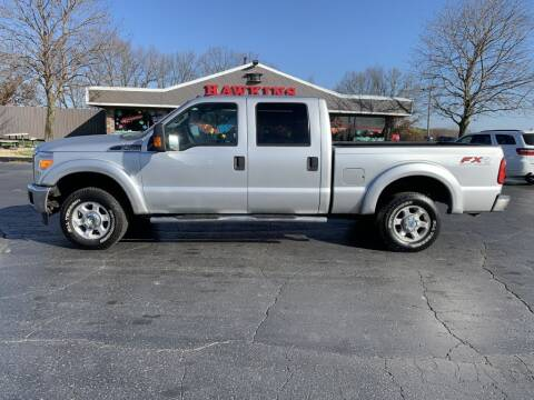 2011 Ford F-250 Super Duty for sale at Hawkins Motors Sales in Hillsdale MI