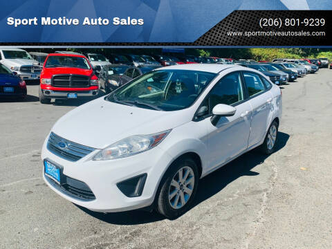 2011 Ford Fiesta for sale at Sport Motive Auto Sales in Seattle WA