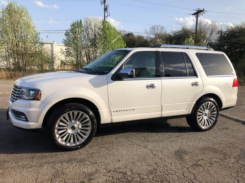 2015 Lincoln Navigator for sale at Haynes Auto Sales Inc in Anderson SC