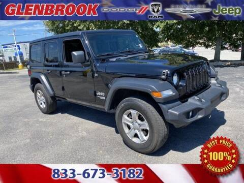 2019 Jeep Wrangler Unlimited for sale at Glenbrook Dodge Chrysler Jeep Ram and Fiat in Fort Wayne IN