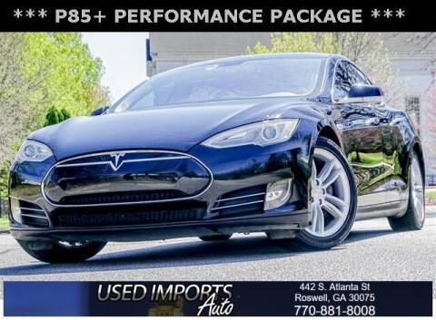 2013 Tesla Model S for sale at Used Imports Auto in Roswell GA