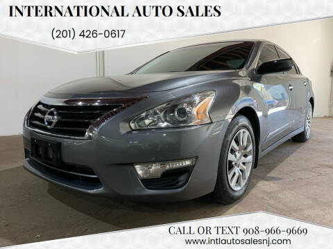 2015 Nissan Altima for sale at International Auto Sales in Hasbrouck Heights NJ