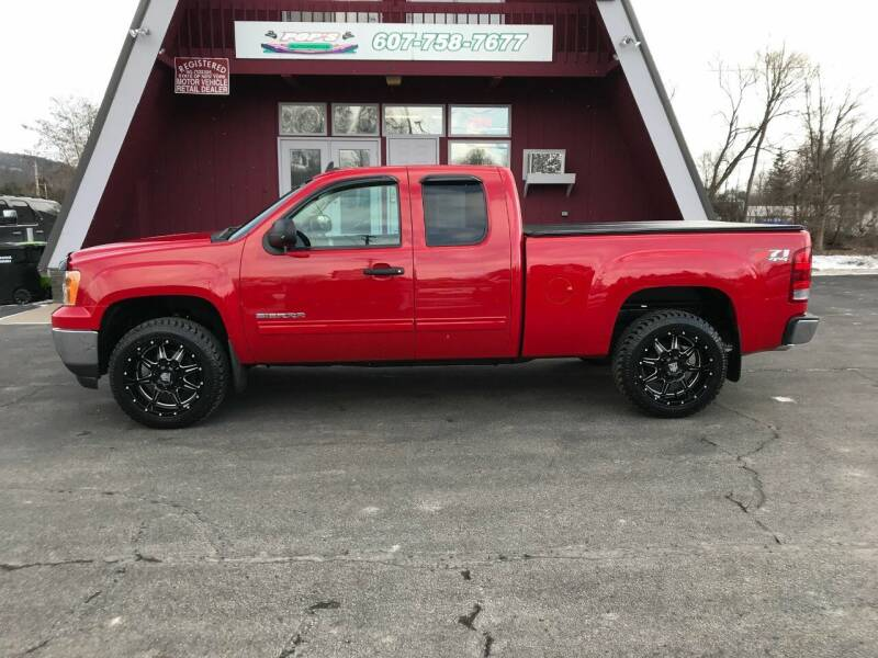 2012 GMC Sierra 1500 for sale at Pop's Automotive in Homer NY
