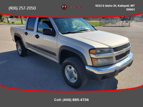 2007 Chevrolet Colorado for sale at Auto Solutions in Kalispell MT