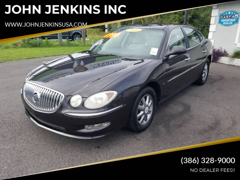 2009 Buick LaCrosse for sale at JOHN JENKINS INC in Palatka FL