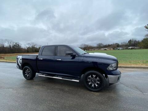 2013 RAM Ram Pickup 1500 for sale at Tennessee Valley Wholesale Autos LLC in Huntsville AL