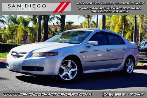 2004 Acura TL for sale at San Diego Motor Cars LLC in San Diego CA