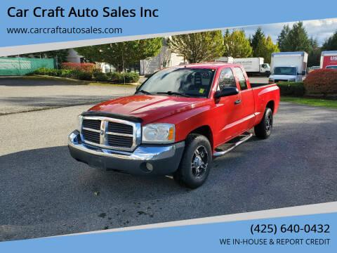 2005 Dodge Dakota for sale at Car Craft Auto Sales Inc in Lynnwood WA