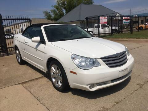 2010 Chrysler Sebring for sale at TETCO AUTO SALES  / TETCO FUNDING in Dallas TX