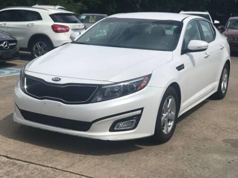 2015 Kia Optima for sale at Discount Auto Company in Houston TX