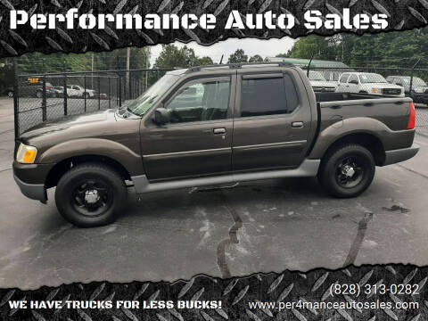 2005 Ford Explorer Sport Trac for sale at Performance Auto Sales in Hickory NC