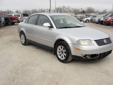 2004 Volkswagen Passat for sale at Frieling Auto Sales in Manhattan KS