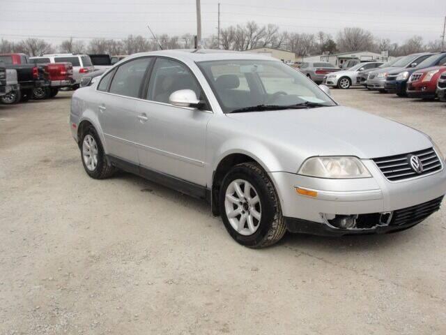 2004 Volkswagen Passat for sale at Frieling Auto Sales in Manhattan KS