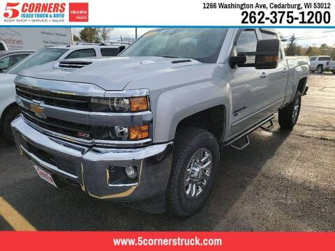 2018 Chevrolet Silverado 2500HD for sale at 5 Corners Isuzu Truck & Auto in Cedarburg WI
