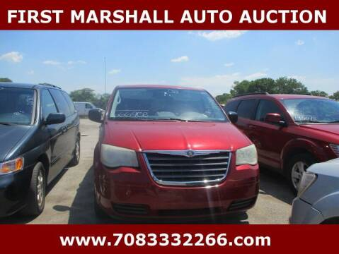 2008 Chrysler Town and Country for sale at First Marshall Auto Auction in Harvey IL