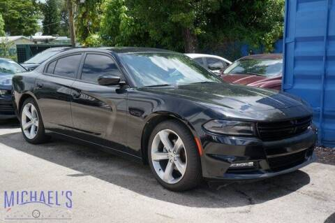 2017 Dodge Charger for sale at Michael's Auto Sales Corp in Hollywood FL