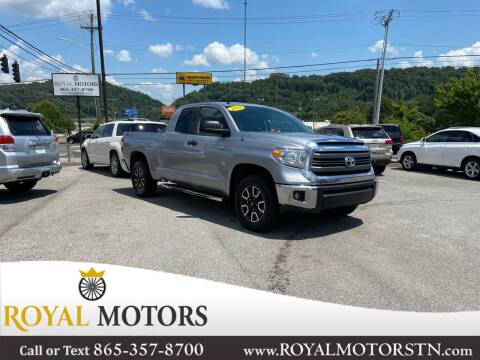 2014 Toyota Tundra for sale at ROYAL MOTORS LLC in Knoxville TN