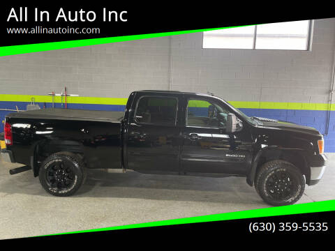 2011 GMC Sierra 2500HD for sale at All In Auto Inc in Palatine IL