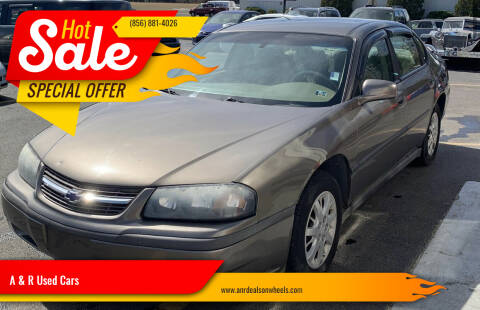 2003 Chevrolet Impala for sale at A & R Used Cars in Clayton NJ
