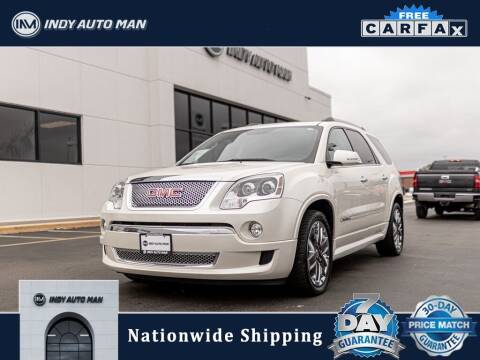 2011 GMC Acadia for sale at INDY AUTO MAN in Indianapolis IN