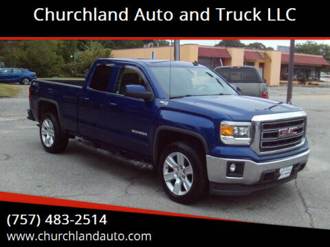 2014 GMC Sierra 1500 for sale at Churchland Auto and Truck LLC in Portsmouth VA