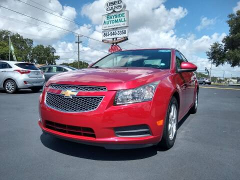 2013 Chevrolet Cruze for sale at BAYSIDE AUTOMALL in Lakeland FL