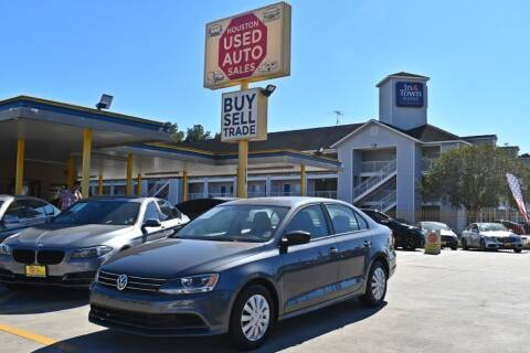 2016 Volkswagen Jetta for sale at Houston Used Auto Sales in Houston TX
