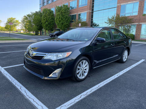 2012 Toyota Camry for sale at Dreams Auto Group LLC in Sterling VA
