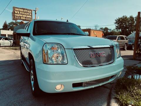 2013 GMC Yukon for sale at 3 Brothers Auto Sales Inc in Detroit MI