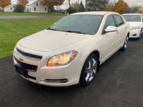 2012 Chevrolet Malibu for sale at Paul Hiltbrand Auto Sales LTD in Cicero NY