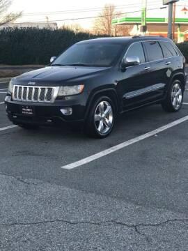2012 Jeep Grand Cherokee for sale at RUSH AUTO SALES in Burlington NC