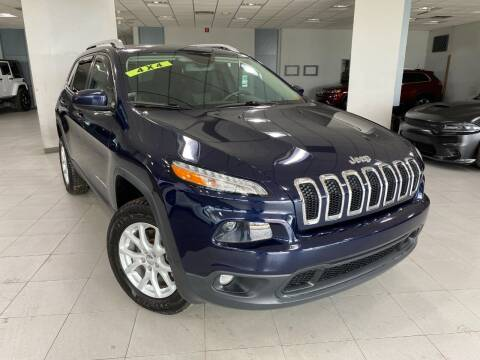 2014 Jeep Cherokee for sale at Auto Mall of Springfield in Springfield IL