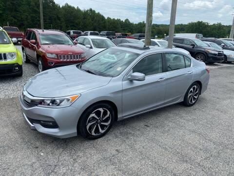 2017 Honda Accord for sale at Billy Ballew Motorsports in Dawsonville GA