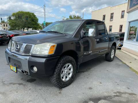 2005 Nissan Titan for sale at ADAM AUTO AGENCY in Rensselaer NY