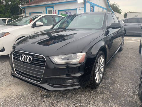 2014 Audi A4 for sale at Bargain Auto Sales in West Palm Beach FL